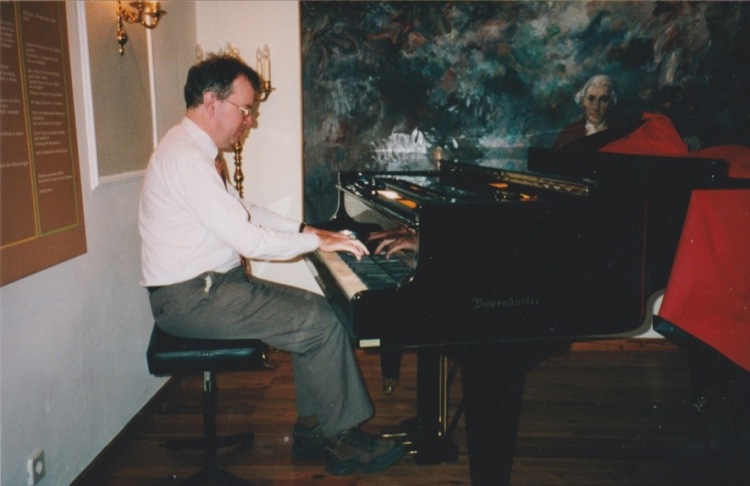 Playing Haydn's music in Haydn's house, but on a modern piano, is a kind of translation
